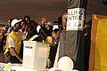 President Kiir Mayardit voting in southern Sudan referendum (5387596026).jpg