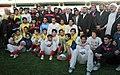 President Mahmoud Ahmadinejad, Iran's national football (soccer) team - 28 February 2006 (5 8412090596 L600).jpg