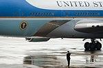 President Obama arrives at Kentucky Air Guard Base 150402-Z-VT419-047.jpg