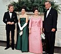 Princess Margaret and Lord Snowdon with Lyndon B. Johnson and Lady Bird Johnson.jpg