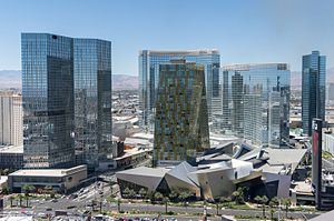 CityCenter - Image: Project City Center in Las Vegas