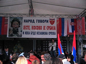 Proposed secession of Republika Srpska - Image: Protesti u BL4
