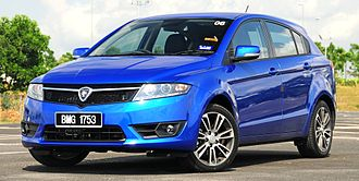 Proton Suprima S - Image: Proton Suprima S Front Three Quarter Facing Left