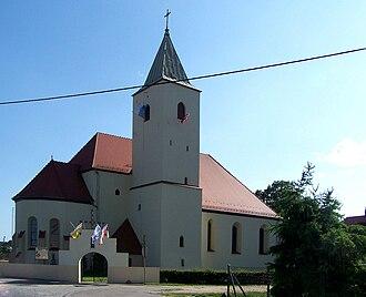 Przewóz, Żary County - Parish church
