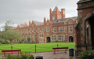 Queen's University Belfast - Lanyon Quadrangle