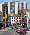 Queen Street South, Kitchener, Ontario looking North to King Street.jpg