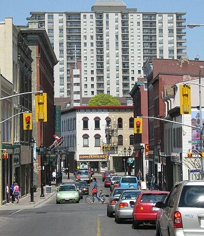 Kitchener King Street At Montgomery