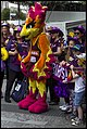 Queensland Netball Firebirds parade day-15 (19212887505).jpg