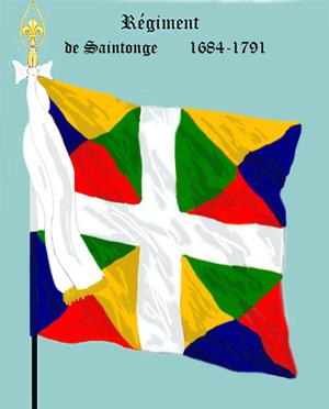 Saintonge Regiment - Image: Rég de Saintonge 1684