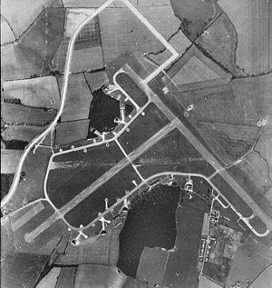 RAF Twinwood Farm - Aerial photograph, 28 March 1948.