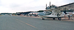 RAF West Malling - A line-up of aircraft at the Great Warbirds Air Display at RAF West Malling, in August 1987.