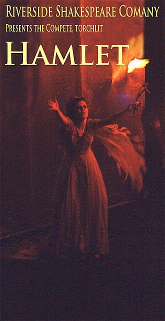 Riverside Shakespeare Company - The complete Hamlet with Kaeren Peregrin as Ophelia, 1978