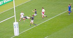 Meta sudafricana nel match perso dagli inglesi 0-36 alla Coppa del Mondo 2007