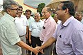 Raghvendra Singh Shaking Hands With Subhabrata Chaudhuri - Science City - Kolkata 2018-07-20 2461.JPG