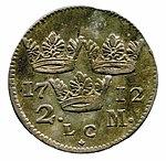 Raha; markka; 2 markkaa - ANT5b-c (musketti.M012-ANT5b-c 2).jpg