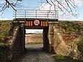Railway bridge over drive to Slaney Manor - geograph.org.uk - 1250489.jpg
