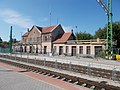 Railway station under reconstruction, 2017 Dorog.jpg