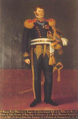 Ramón Freire - Portrait of Freire