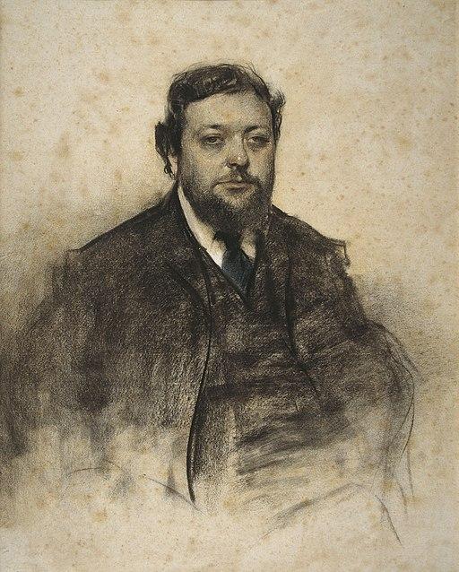 Ramon Casas - MNAC- Léon Jaussely- 027301-D 006458