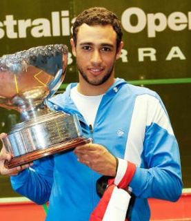 Ramy Ashour Egyptian squash player