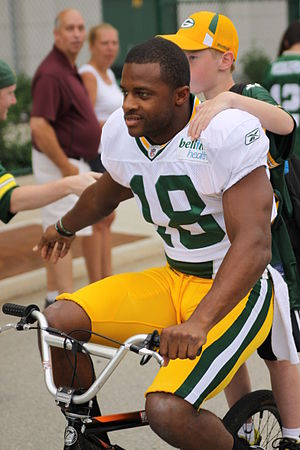 English: Green Bay Packers rookie wide receive...