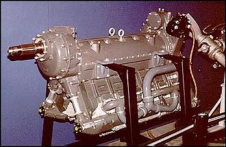 Ikarus 214 - A Ranger V-770 engine, as installed on the Ikarus 214 prototype