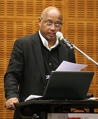 Raoul Peck - Peck in 2014 at a conference in Frankfurt