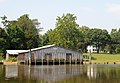 Rappahannock River at Saunders Wharf - Wheatlands - panoramio.jpg