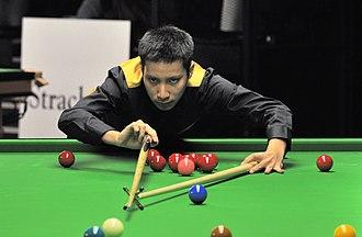 Ratchayothin Yotharuck - Ratchayothin Yotharuck at 2014 German Masters
