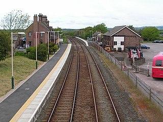 Ravenglass railway station Mainline railway station in Ravenglass, Cumbria
