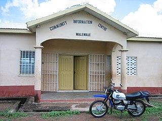 Walewale District Capital in North East region