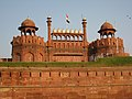 Red Fort, Delhi, ramparts.jpg