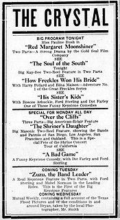 <i>Red Margaret, Moonshiner</i> 1913 film by Allan Dwan