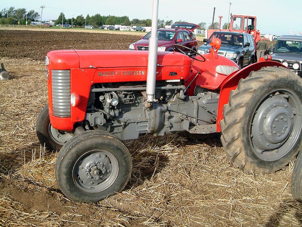 File:Red Massey Ferguson at the 55th British National ...