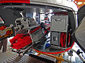 Rega EC-145 rescue helicopter interior.JPG