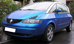 Renault Avantime - Image: Renault Avantime bleu front