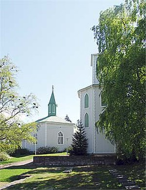 Reposaari - Reposaari Church.