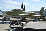Republic F-84F Thunderstreak (possibly 51-1378) (26692866691).jpg