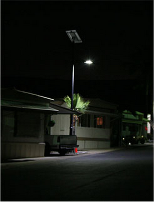 Residential Solar lighting in Santee