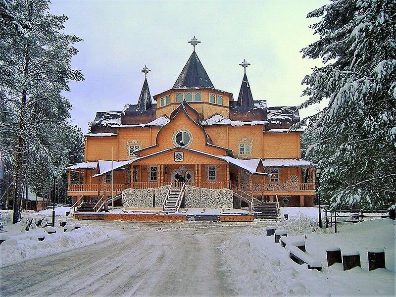 Дед Мороз сделал своей резиденцией Великий Устюг