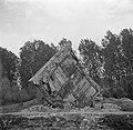 Restant van een bunker uit de Tweede Wereldoorlog langs de bovenrijn, onderdeel…, Bestanddeelnr 254-1203.jpg