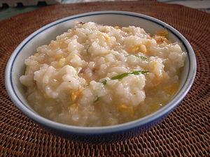 Gruel - Rice gruel