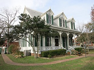 Richmond, Texas - Image: Richmond TX Mc Farlane House
