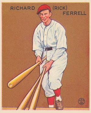 Rick Ferrell - Ferrell in 1934
