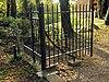 foto van Loenersloot: smeedijzeren toegangshek