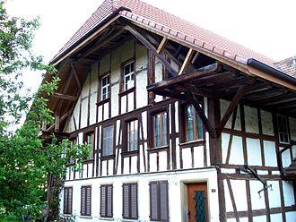 Murgenthal - Typical Aargau farmhouse, from Riken village