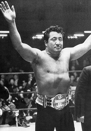 History of professional wrestling - Rikidōzan was a huge star in Japan in the 1950s, and he is commonly credited with bringing professional wrestling to Japan