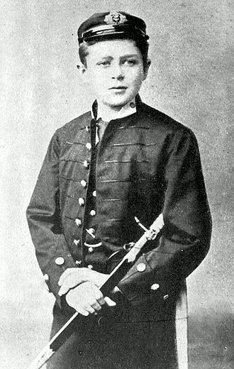 Robert Falcon Scott - Scott, aged 13