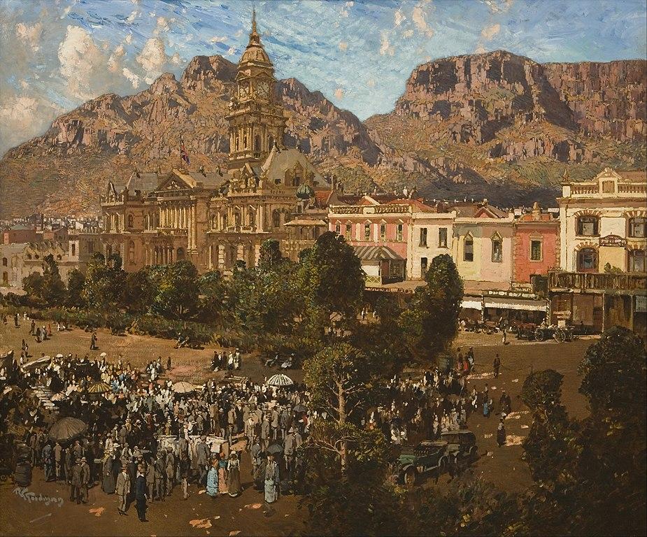 File:Robert Gwelo Goodman - City Hall, Cape Town 1917 ...
