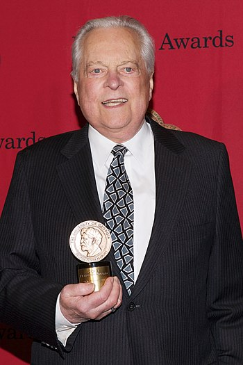 TCM prime time host Robert Osborne at the 73rd Annual Peabody Awards (May 2014)